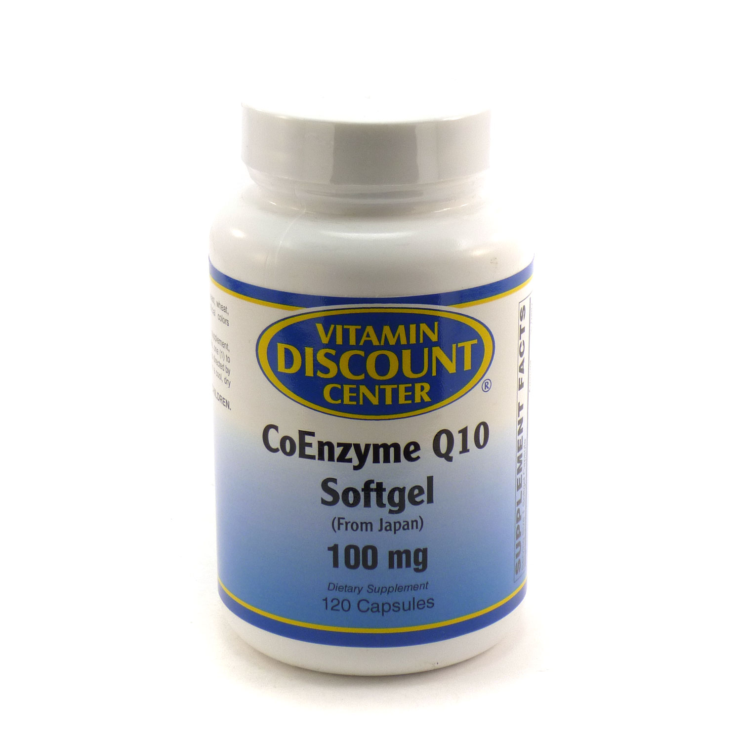 Coenzyme Q10 100mg by Vitamin Discount Center - 120 Softgels