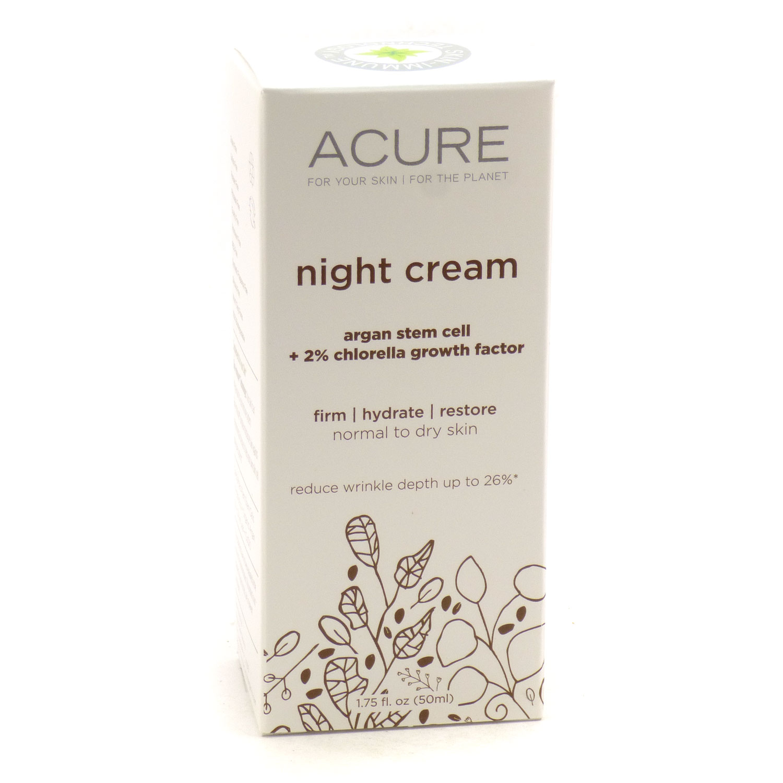 Night Cream By Acure - 1.75 Fluid Ounces 854049002095