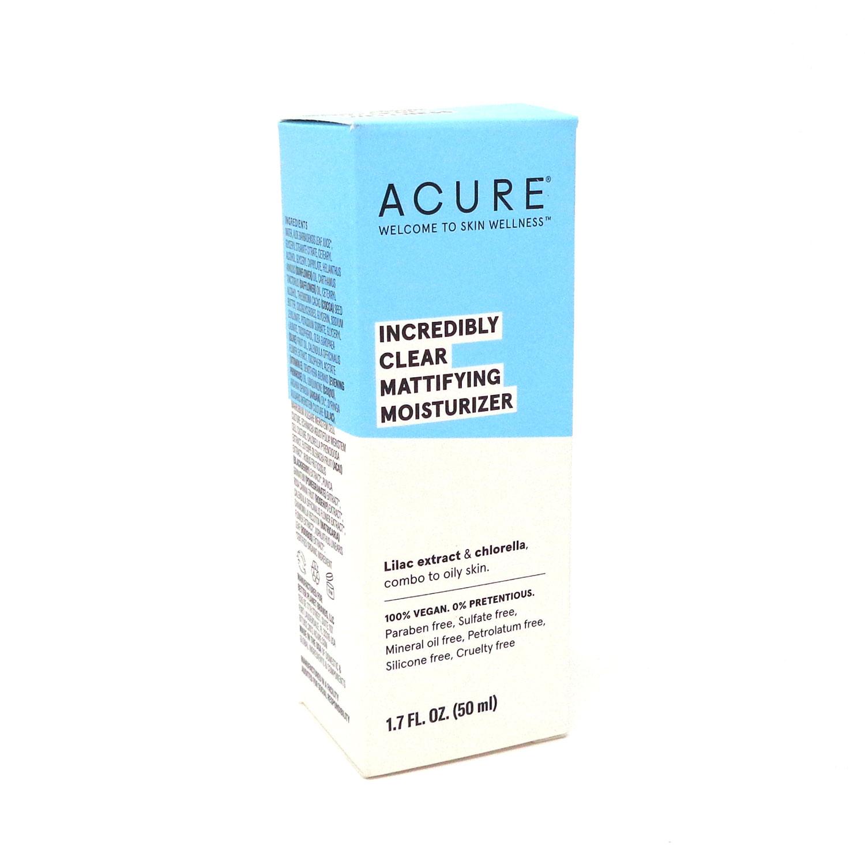 Oil Control Facial Moisturizer By Acure - 1.75 Ounces